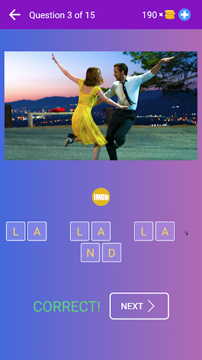 Guess the Movie from Picture or Poster — Quiz Game screenshot 2