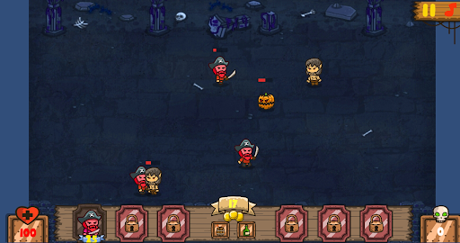 Defense Troops Pirate screenshot 3