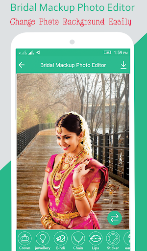 Bridal Mackup Photo Editor screenshot 3