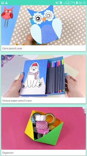 How to make school supplies 🌈🌈 screenshot 3