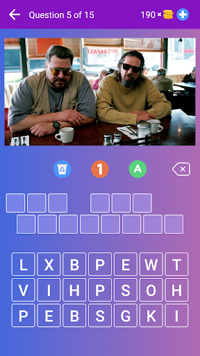 Guess the Movie from Picture or Poster — Quiz Game screenshot 1