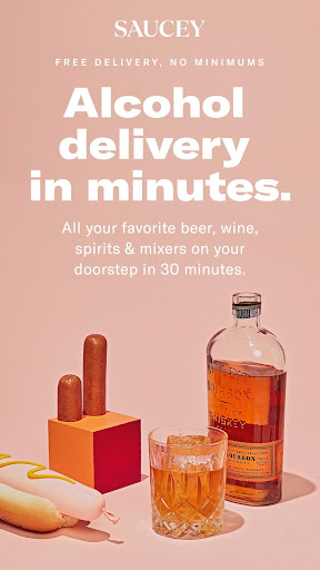 Saucey: Alcohol Delivery screenshot 1