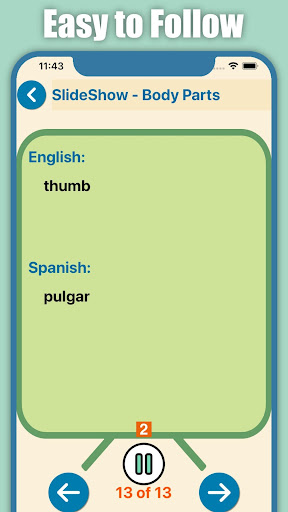 Quick and Easy Spanish Lessons screenshot 6