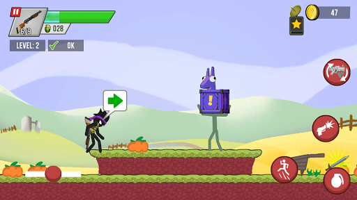 Stickman vs Zombies screenshot 8