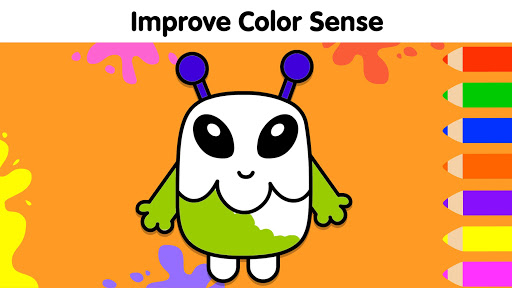 Coloring Games for Kids: Baby Drawing Book & Pages screenshot 14