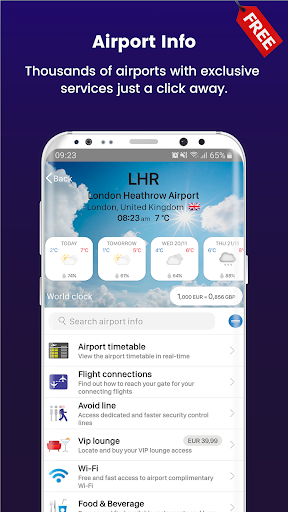 FLIO - Your personal travel assistant screenshot 4