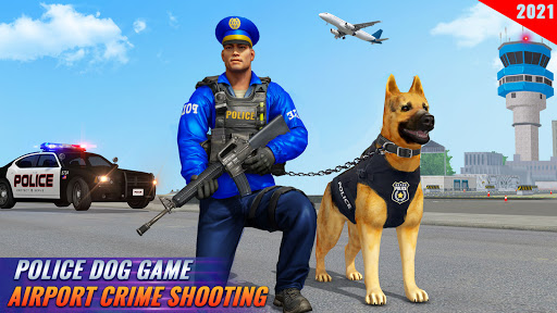 Police Dog Airport Crime Chase screenshot 2