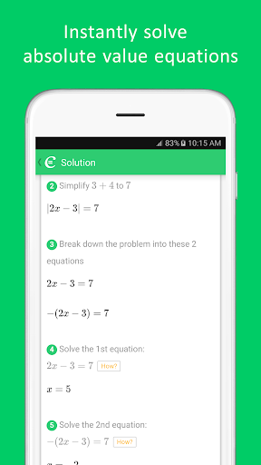 Cymath screenshot 6