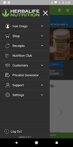 Herbalife Nutrition Point of Sale screenshot 2
