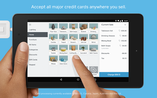 Square Point of Sale - POS screenshot 1
