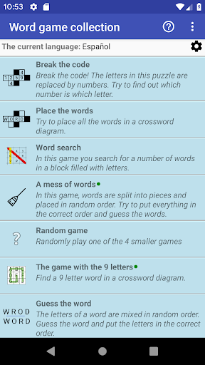 Word Game Collection(Free) screenshot 1