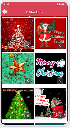 Christmas & New Year Greetings Ecard and GIF capture d ecran 5