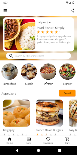 Easy Recipes screenshot 1
