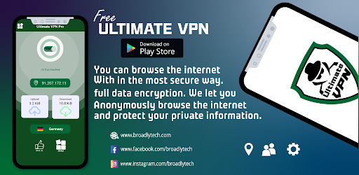 Ultimate VPN Pro screenshot 1