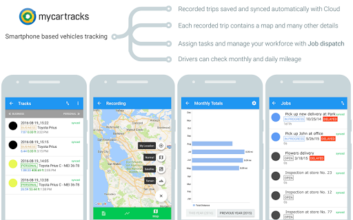 Automatic GPS Vehicle Tracker for Businesses screenshot 10