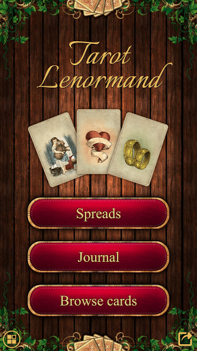 Tarot Madame Lenormand screenshot 1