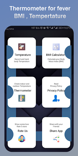 Thermometer for Fever Tracker Diary screenshot 2