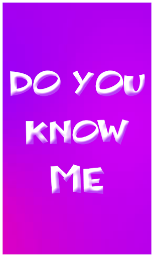How much do you know me screenshot 1