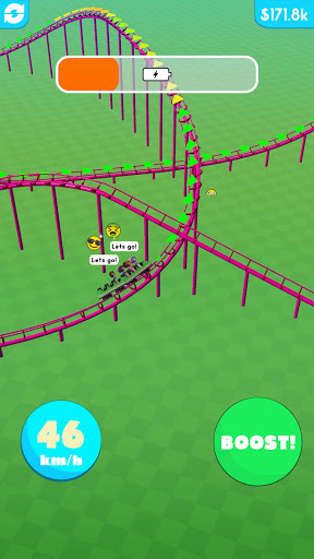 Hyper Roller Coaster screenshot 6