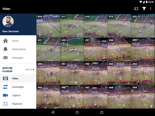 Hudl screenshot 11