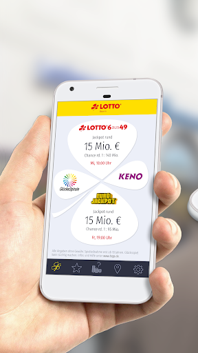 SÄPP - LOTTO Bayern Service App screenshot 1