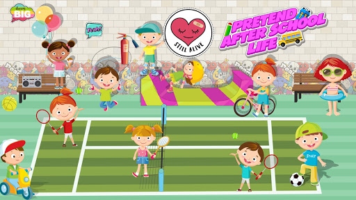 Pretend After School Life: Fun Town Learning Game screenshot 2