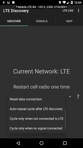 LTE Discovery screenshot 4