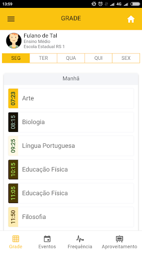 Escola RS - Estudante screenshot 3