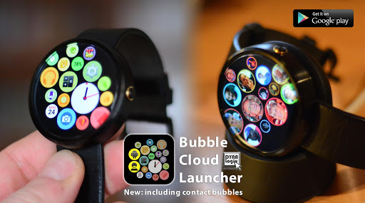 Bubble Cloud Tile Launcher / Watchface (Wear OS) screenshot 7