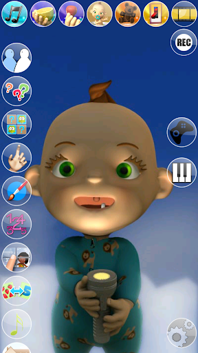My Talking Baby Music Star screenshot 15