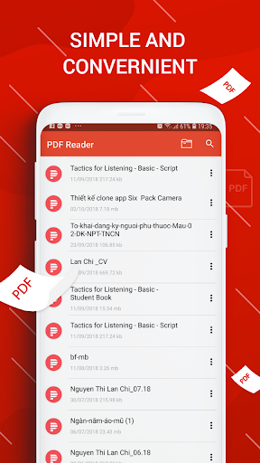 PDF Reader for Android screenshot 2