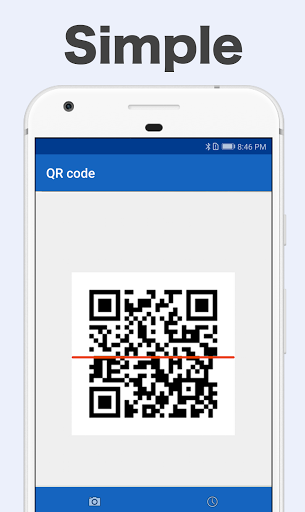 Free QR Code Reader & Barcode Scanner for Android screenshot 1
