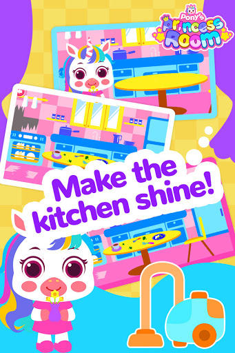 Pony Princess Room-Baby House Cleanup For Girls screenshot 3