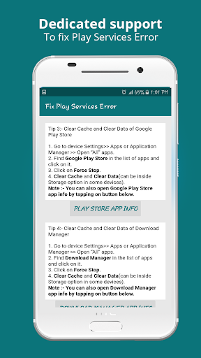 Info of Play Store & fix Play Services 2020 Update screenshot 2