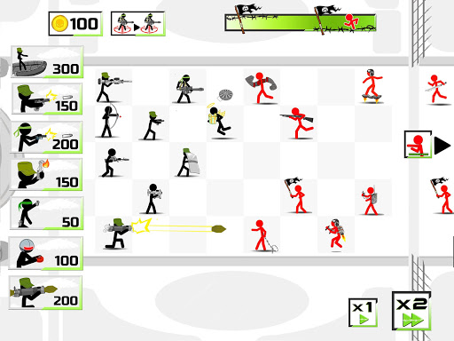 Stickman Army : The Defenders screenshot 13