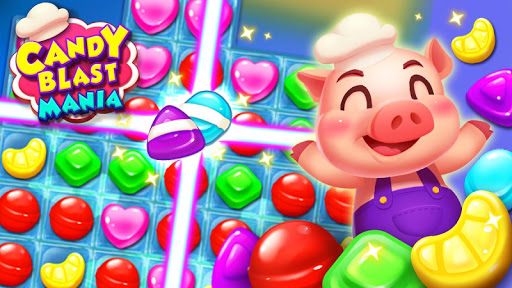 Candy Blast Mania - Match 3 Puzzle Game screenshot 1