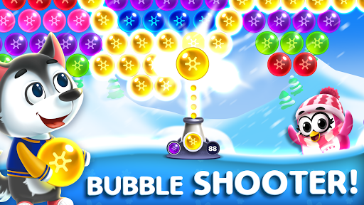 Frozen Pop Bubble Shooter Game screenshot 1