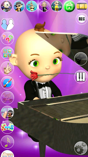 My Talking Baby Music Star screenshot 11