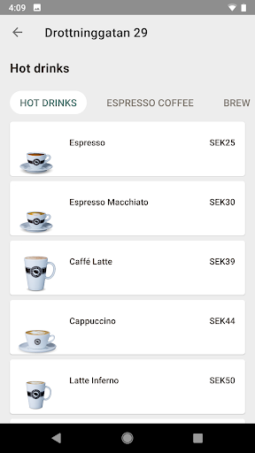 Espresso House screenshot 3
