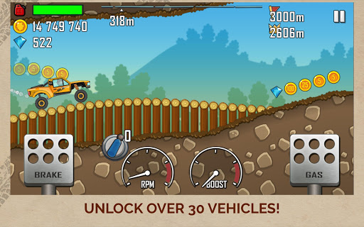 Hill Climb Racing screenshot 12