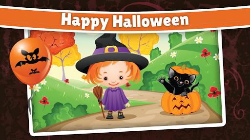 Halloween Puzzle for kids & toddlers 🎃 screenshot 1