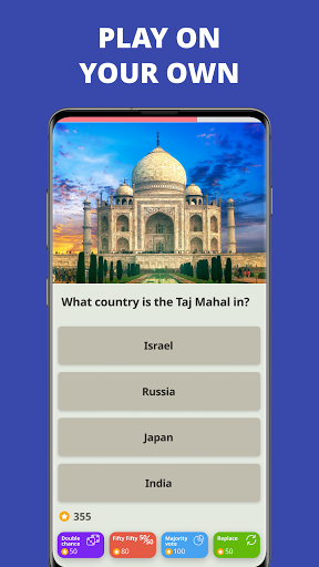 Free Trivia Game. Questions & Answers. QuizzLand. screenshot 2