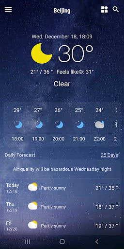 Weather App - Weather Forecast & Weather Live screenshot 10