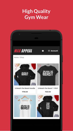 MaxAppeal : Gym & Fitness Products Shopping App screenshot 2