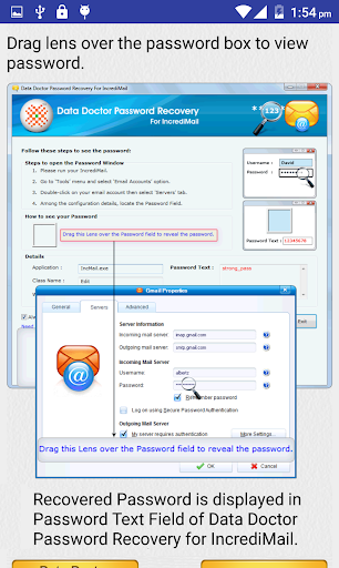 Email Password Recovery Help screenshot 4