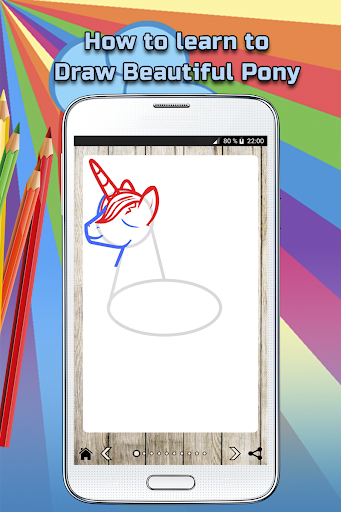 How to draw a Beautiful Pony screenshot 3