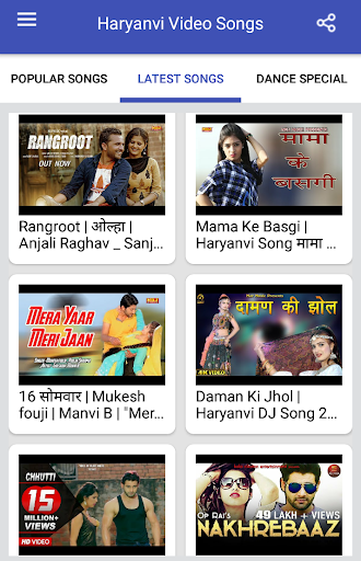 Haryanvi Songs : Haryanvi Video Songs screenshot 2