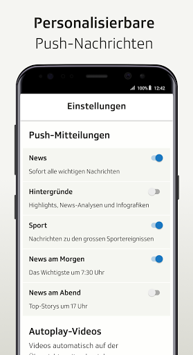 SRF News - Nachrichten, Videos und Livestreams screenshot 3
