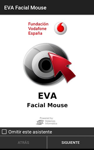 EVA Facial Mouse screenshot 1