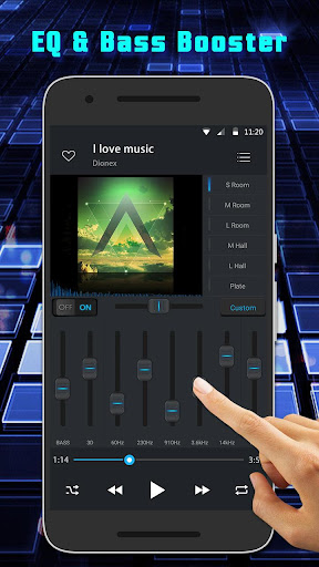 Equalizer Music Player and Video Player screenshot 2